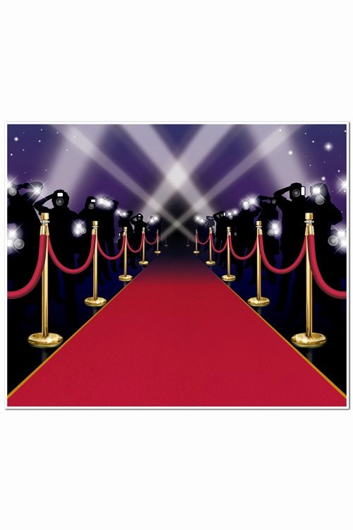 Red Carpet Backdrop Template Luxury Décoration Murale Tapis Rouge Festival De Cannes
