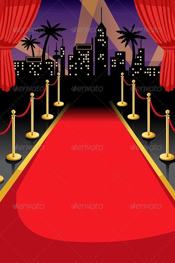 Red Carpet Backdrop Template Luxury Red Carpet Backgrounds Decorative Meals