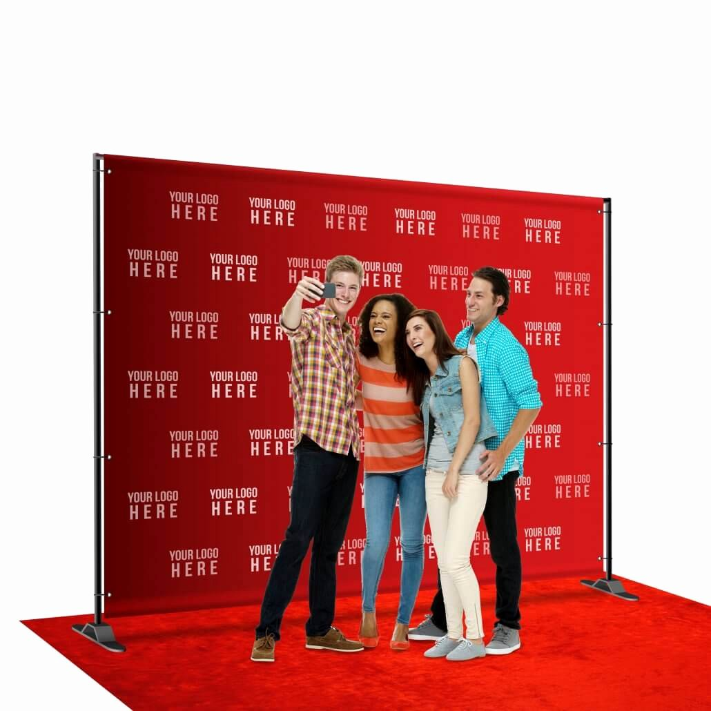 Red Carpet Backdrop Template Unique 8 X 10 Step and Repeat Backdrop for Red Carpet events
