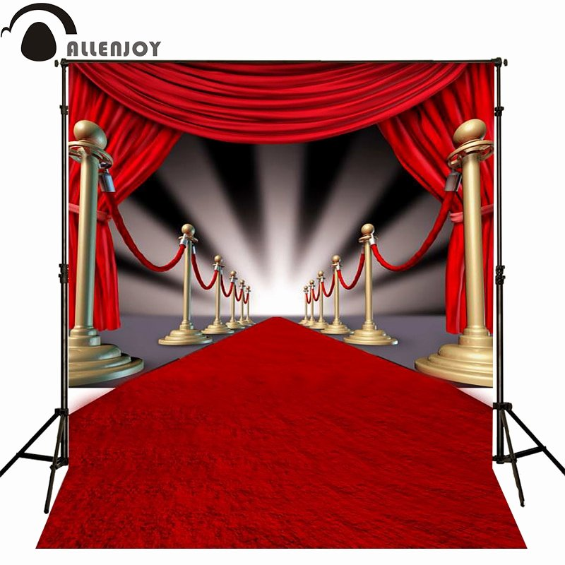 Red Carpet Backdrop Template Unique Allenjoy Photographic Background Ray Red Carpet Striped