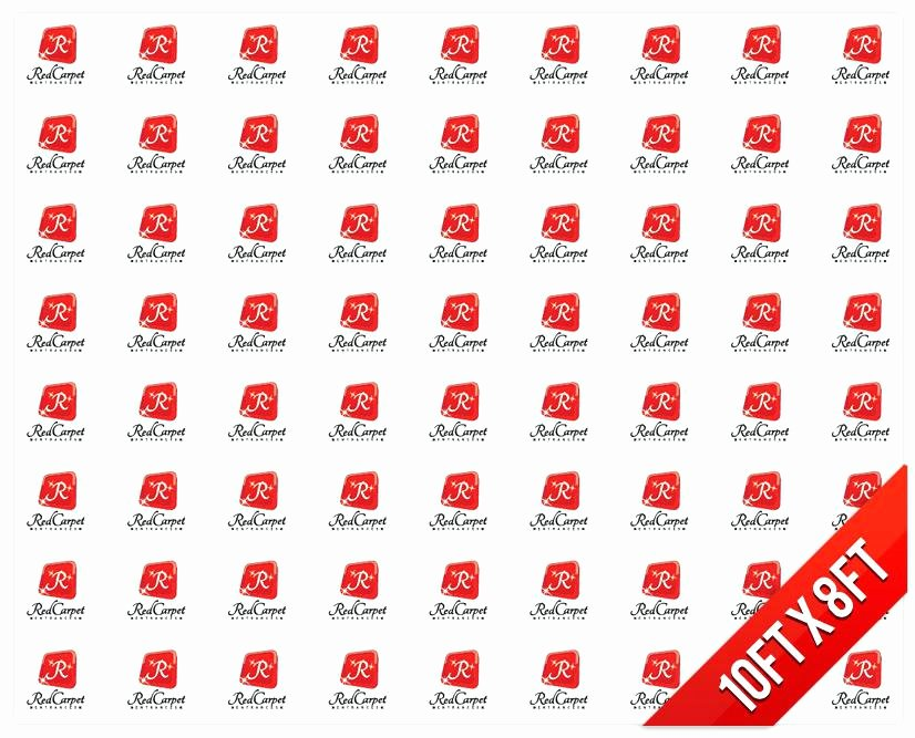 Red Carpet Backdrop Template Unique Step and Repeat Banner Template Design for Step and Repeat