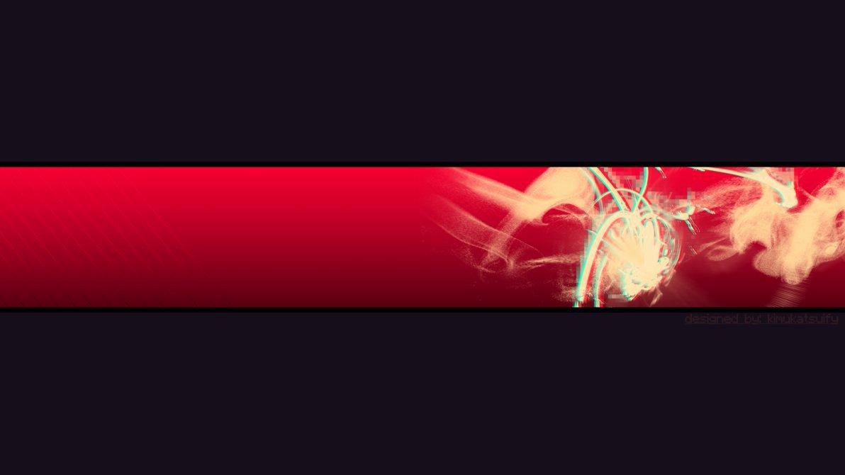 Red Youtube Banner Template Beautiful Banner Wallpaper Wallpapersafari