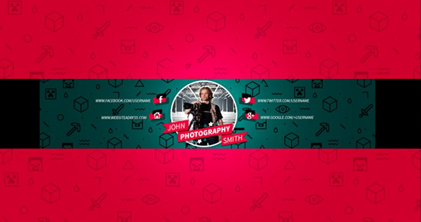 Red Youtube Banner Template Inspirational 41 Creative Banner Templates