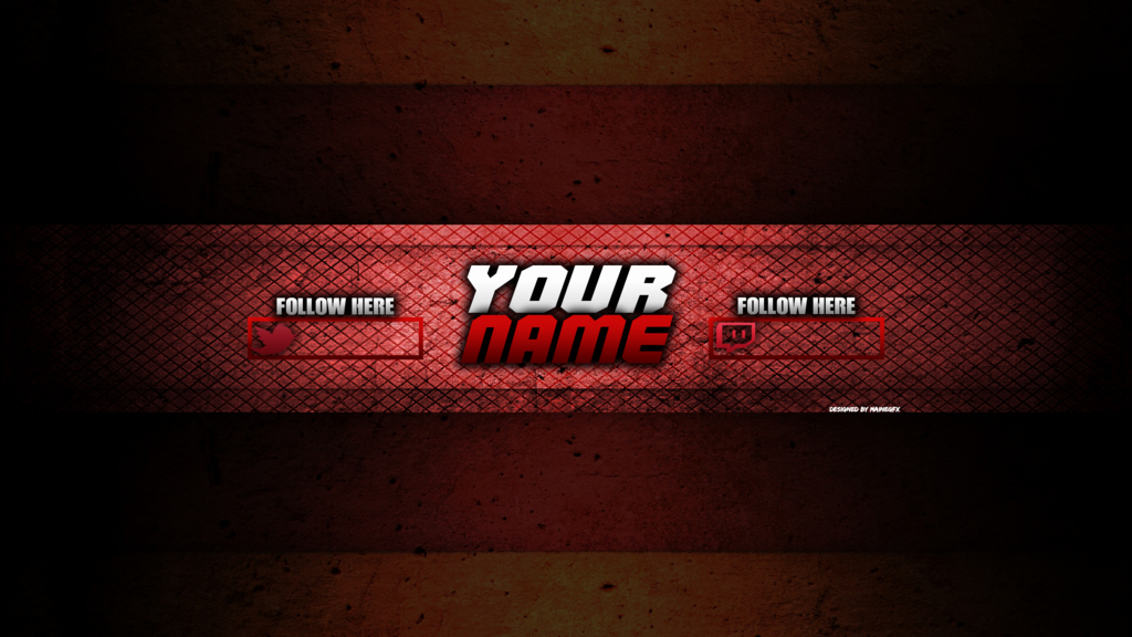 Red Youtube Banner Template Luxury Yt Red Channel Art by Mainegfx by Mainegraphics On Deviantart