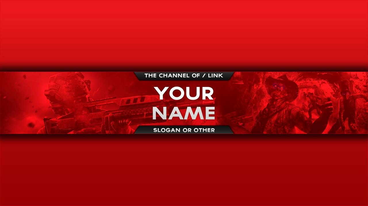 Red Youtube Banner Template Unique Youtube Banner Red and White to Pin On Pinterest