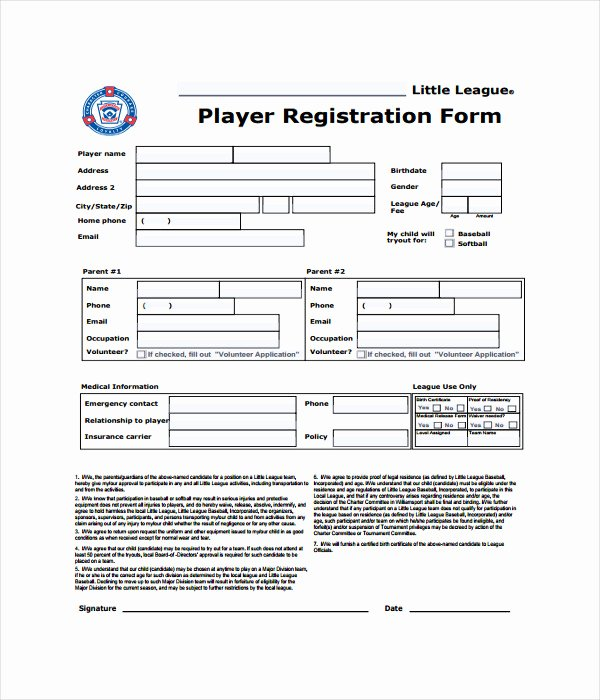 Registration form Template Word Fresh 11 Registration form Templates Free Word Pdf Documents
