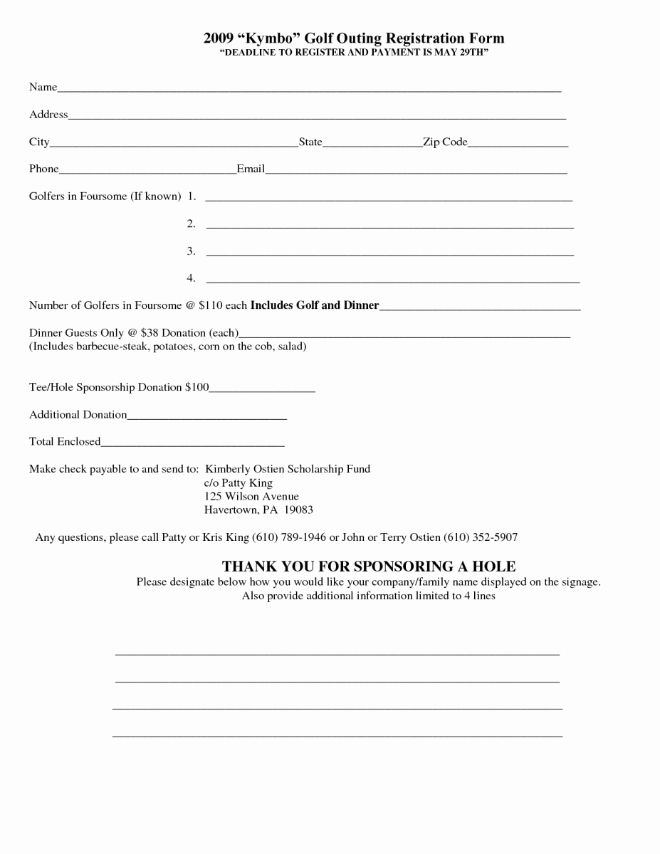 Registration forms Template Word New 5 Registration form Templates Word – Word Templates