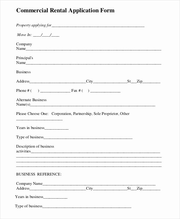 Rent Application form Template Lovely Rental Application Templates 10 Free Word Pdf