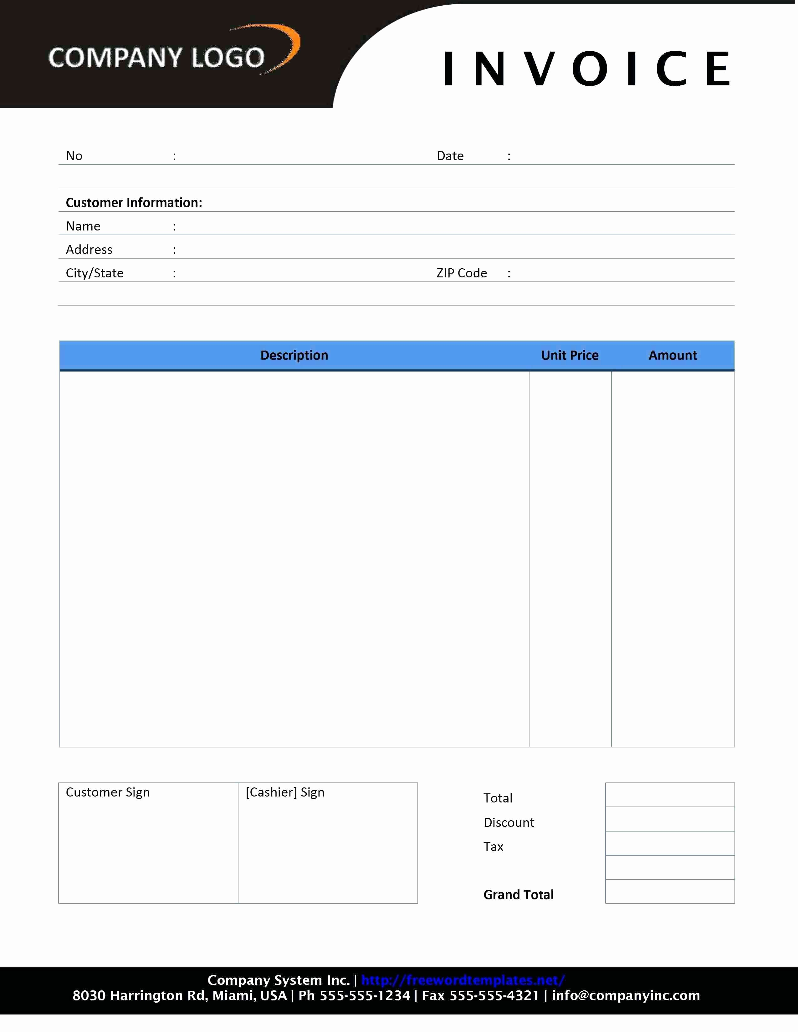 Rent Invoice Template Excel Luxury Rent Invoice Template Excel