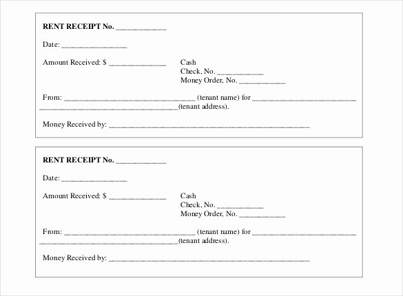 Rent Paid Receipt Template Lovely 35 Rental Receipt Templates Doc Pdf Excel