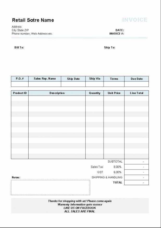 Rental Invoice Template Excel Luxury Invoice Rent Receiptate Download Car Rental Tax Australia