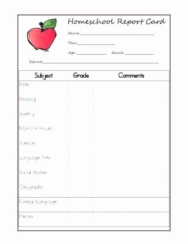 Report Card Template Pdf Awesome Kindergarten Report Card Template Free Cbse format for