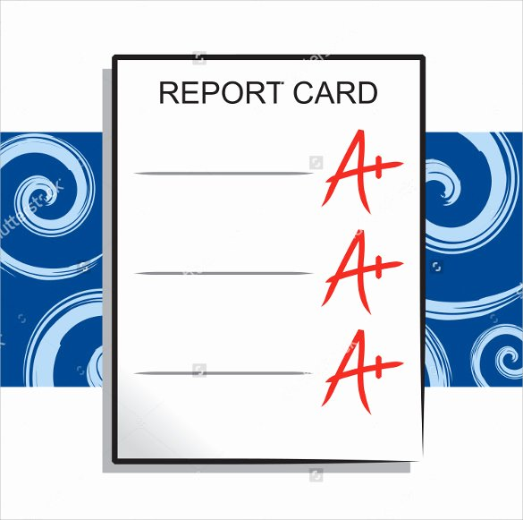 Report Card Template Pdf Best Of 12 Progress Report Card Templates to Free Download