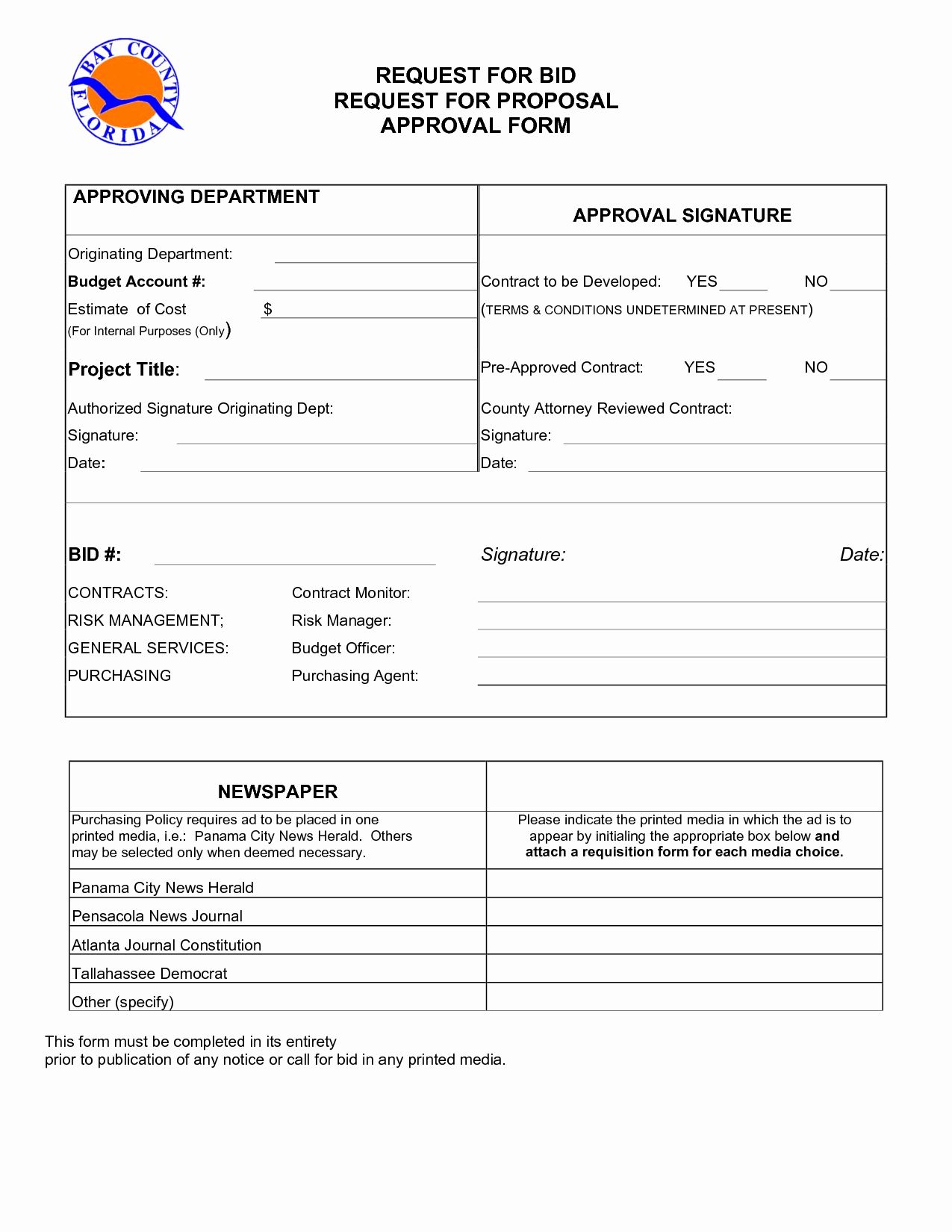 Request for Bid Template Beautiful 6 Best Of Request for Proposal form Request for