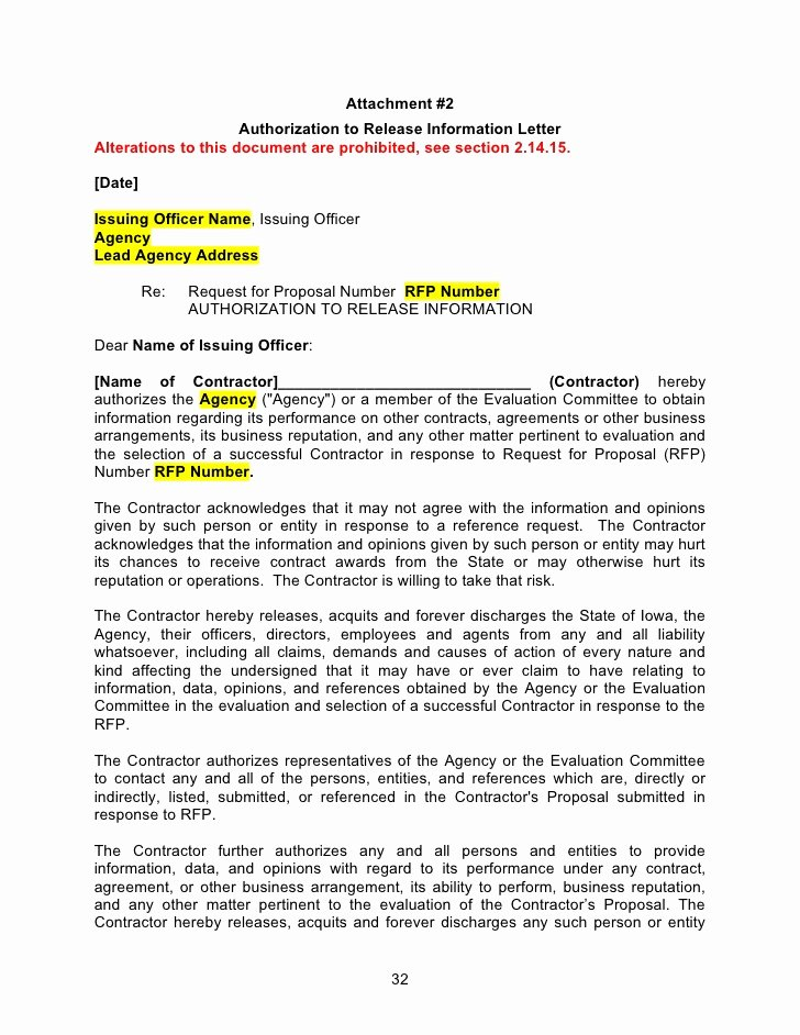 Request for Proposal Template Word Beautiful Rfp Template Word Document