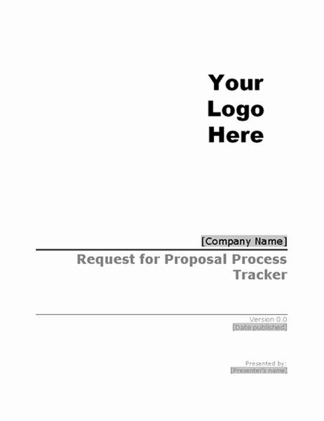Request for Proposal Template Word Best Of Business Plans Fice