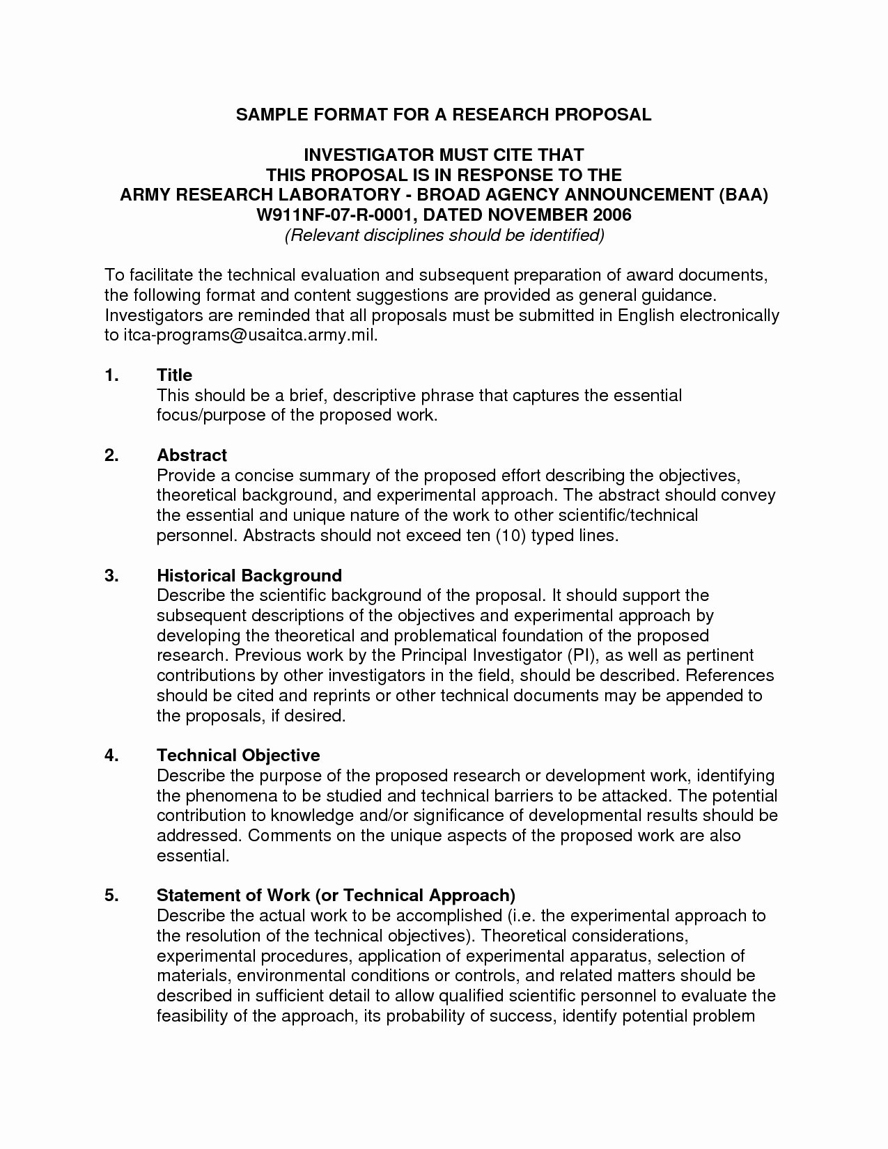 Research Paper Proposal Template Best Of Template Research Proposal Sample