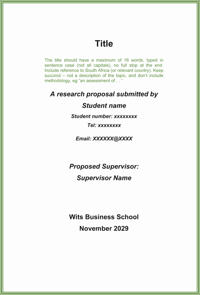 Research Paper Proposal Template Lovely Research Proposal Template 3 Printable Samples