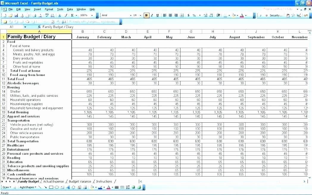 Residential Construction Budget Template Excel Unique It Bud Template Excel – Flirty
