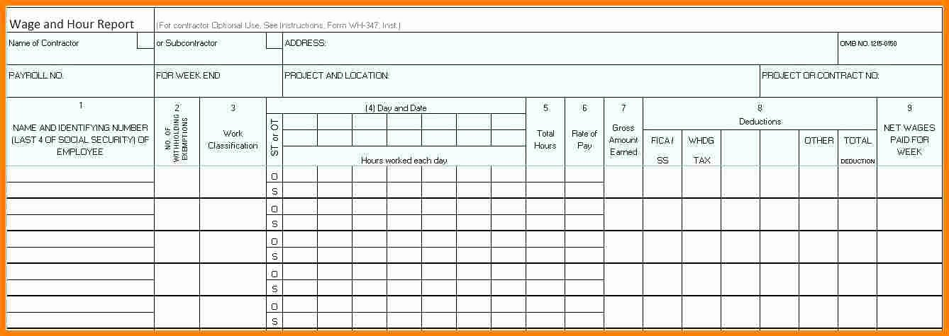 Residential Construction Schedule Template Inspirational 5 Payroll Template Excel
