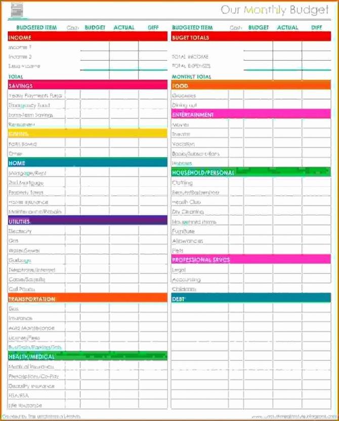 Restaurant Budget Template Excel Unique Restaurant Bud Spreadsheet