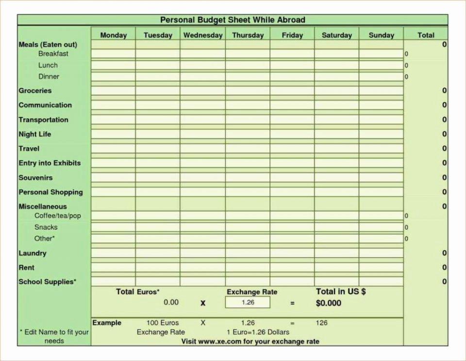 Restaurant Budget Template Excel Unique Spreadsheet Examples for Bud Deriheruchiba Sample