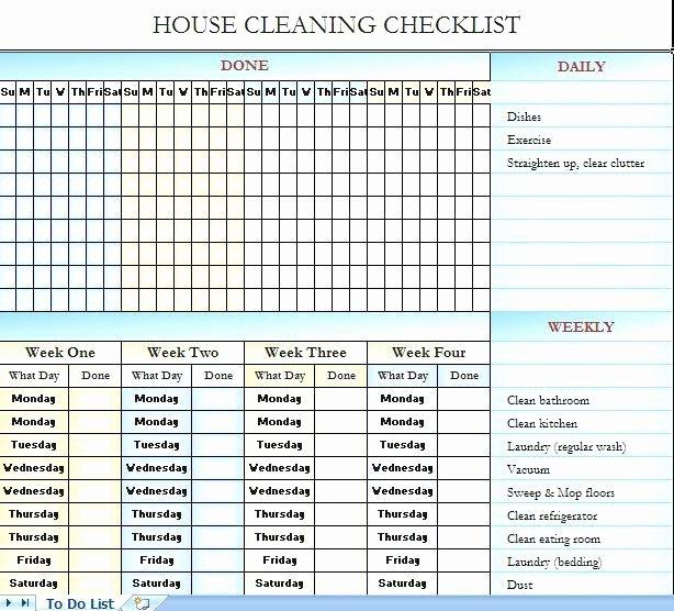Restaurant Cleaning Checklist Template Beautiful Restaurant Kitchen Cleaning Checklist Pdf – Wow Blog