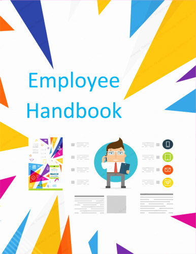 Restaurant Employee Handbook Template Free Unique Employee Handbook Template Free Printable Sample
