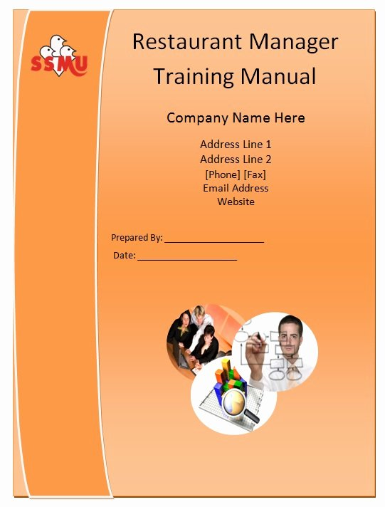 Restaurant Employee Handbook Template Inspirational Restaurant Manager Training Manual Template Guide Help