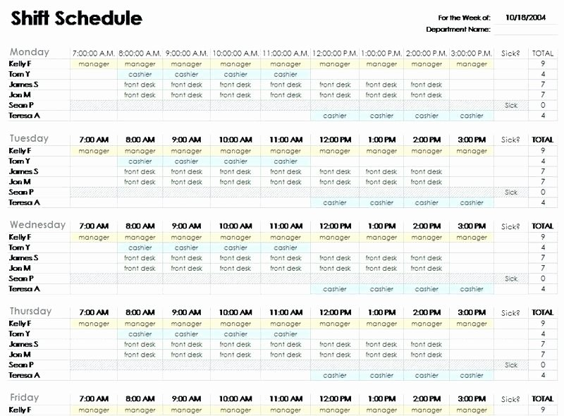 Restaurant Employee Schedule Template Best Of Employee Scheduling Excel Employee Scheduling Spreadsheet