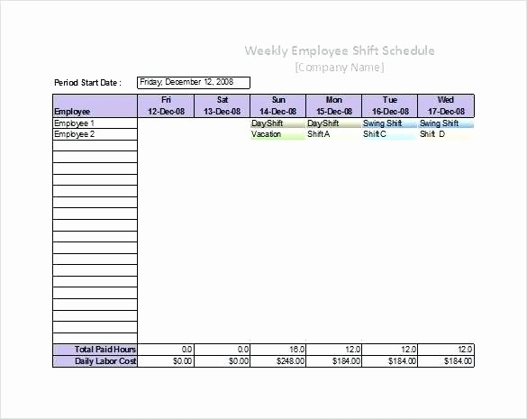Restaurant Employee Schedule Template New Free Restaurant Employee Schedule Template Excel Bathroom