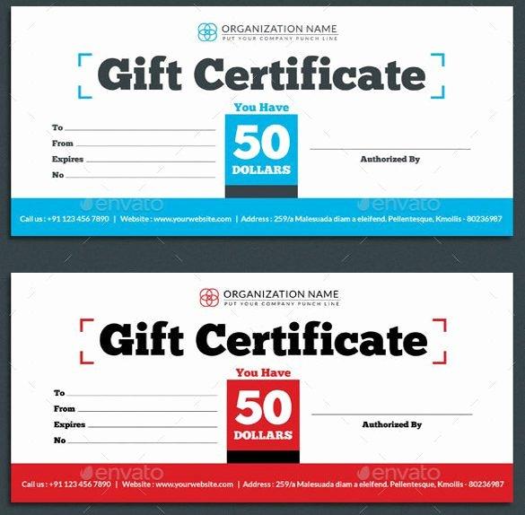 Restaurant Gift Certificate Template Elegant Gift Certificate Shop Template