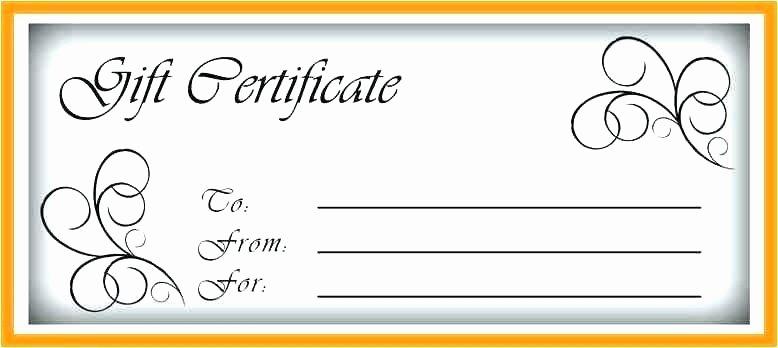 Restaurant Gift Certificate Template Lovely Blank Certificate Template Word – Harriscateringfo