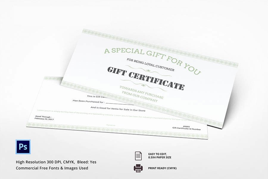 Restaurant Gift Certificate Template Luxury 7 Free Gift Certificate Templates Birthday Business