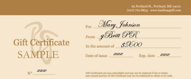 Restaurant Gift Certificate Template New Free Restaurant Gift Certificate Template Gift Ftempo