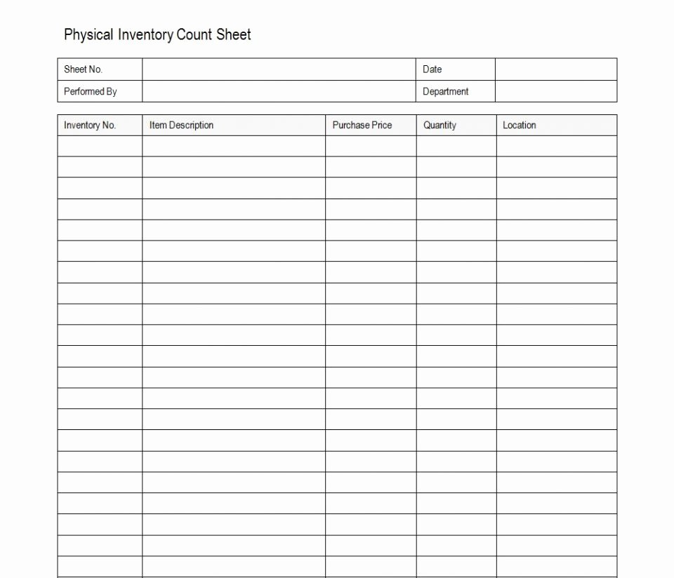 Restaurant Inventory Sheet Template New Inventory Sheet Example Simpleate Physical
