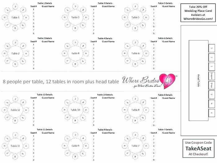 Restaurant Seating Chart Template Excel Beautiful Wedding Guest Seating Chart Template Beautiful Wedding