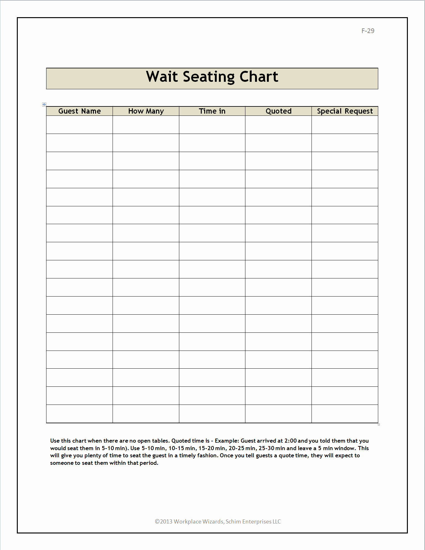 Restaurant Seating Chart Template Excel Inspirational New Cumberland Pennsylvania Restaurant Consultants