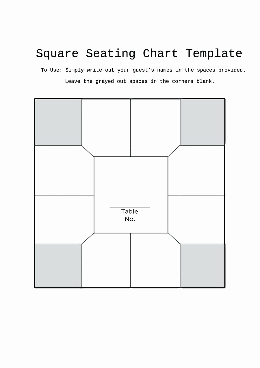 Restaurant Seating Chart Template Excel New Template Floor Chart Template