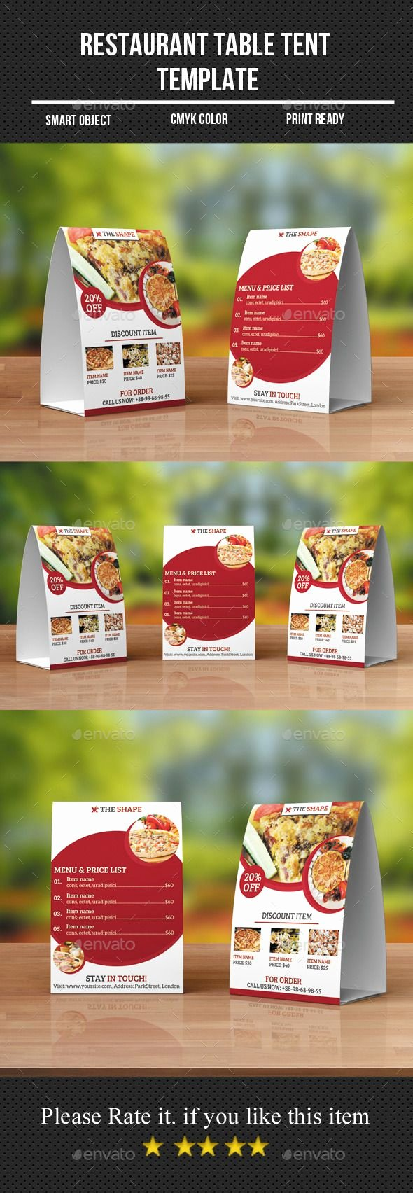 Restaurant Table Tent Template Awesome Best 25 Table Tents Ideas On Pinterest