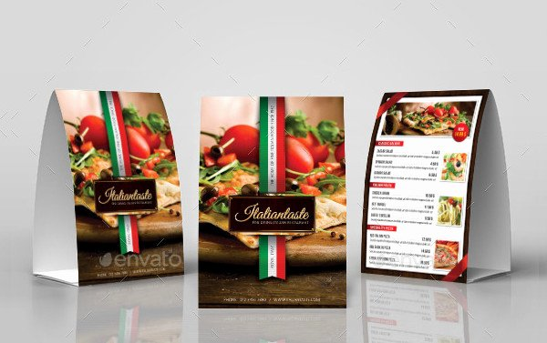 Restaurant Table Tent Template Fresh 27 Creative Table Tent Templates Free & Premium Download