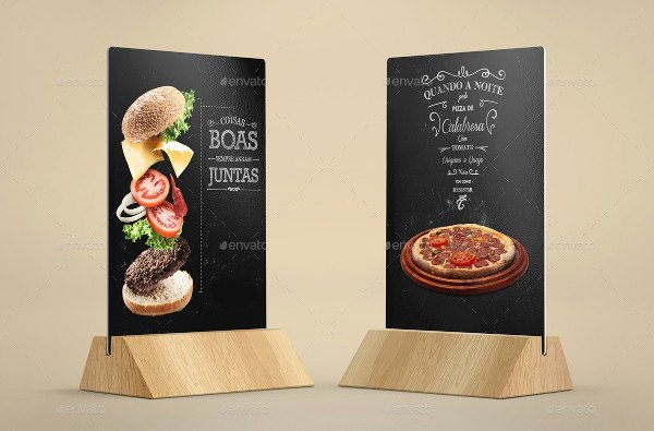 Restaurant Table Tent Template Lovely 27 Table Tent Mockup Templates Free & Premium Download