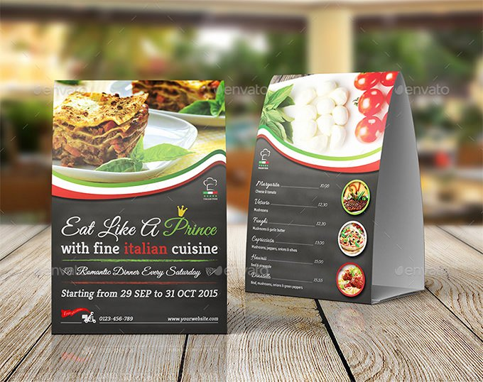 Restaurant Table Tent Template Luxury Table Tent Template 37 Free Printable Pdf Jpg Psd