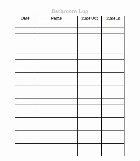 Restroom Cleaning Log Template Inspirational Restroom Cleaning Schedule Log Sheets Music Search