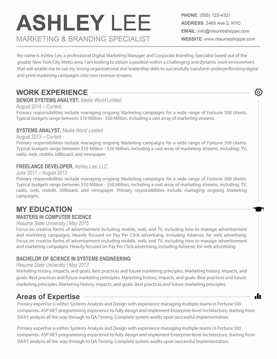 Resume Template for Mac Beautiful Word Resume Templates Mac Template Music Industry Free Cv