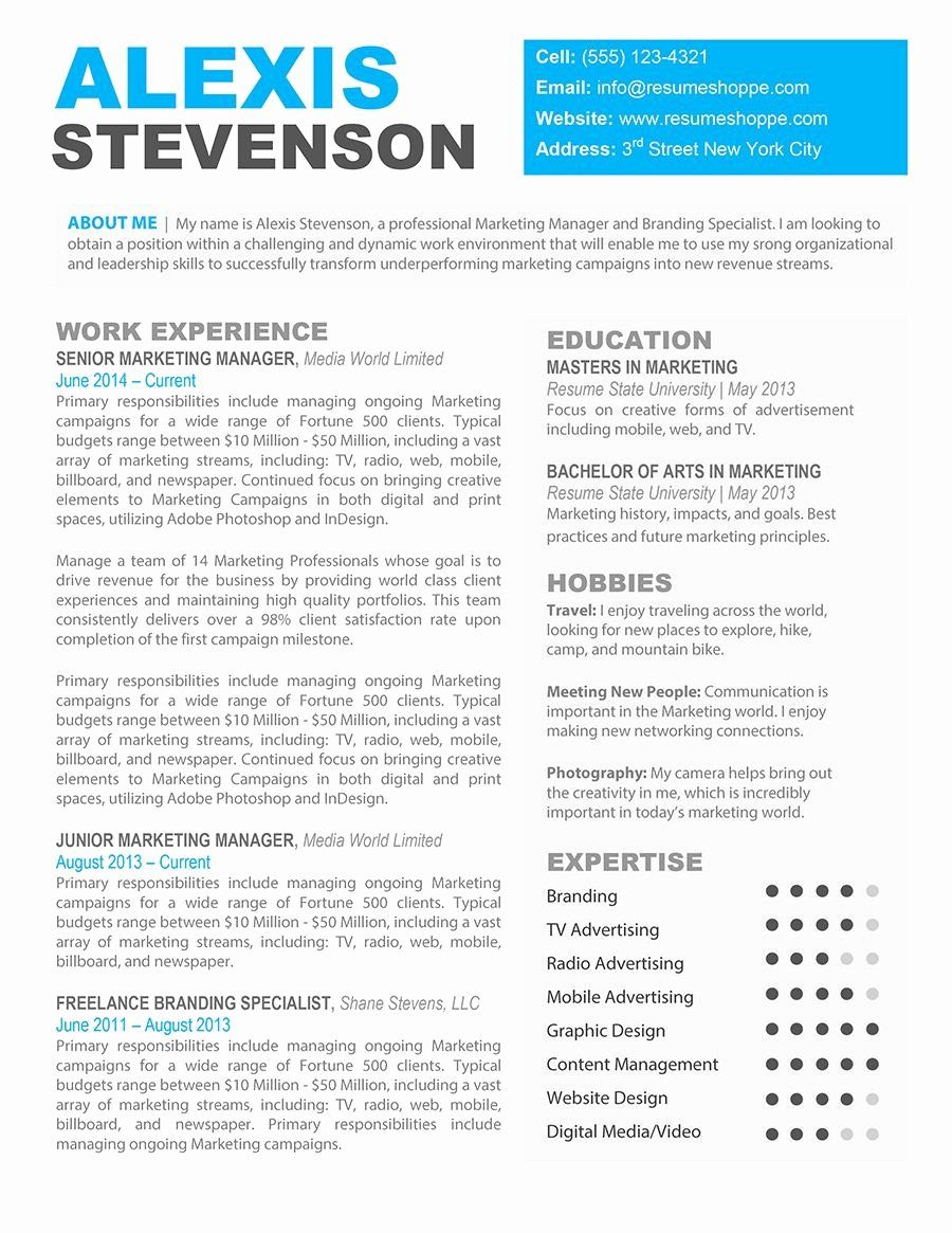 Resume Template for Mac Best Of Bffdfbfaeb Mac Resume Templates Elarboldepapel