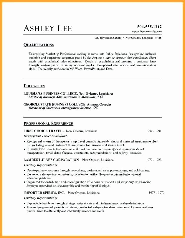 Resume Template for Mac Best Of Free Resume Templates for Mac