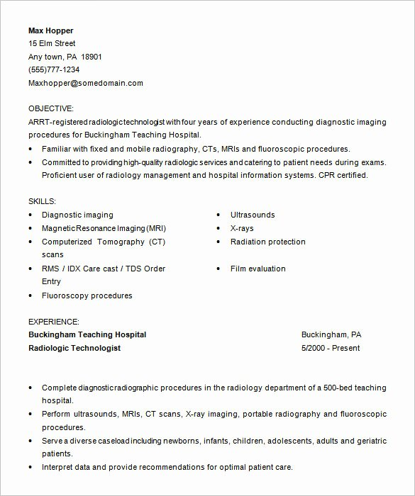 Resume Template for Medical assistant Fresh 5 Medical assistant Resume Templates Doc Pdf