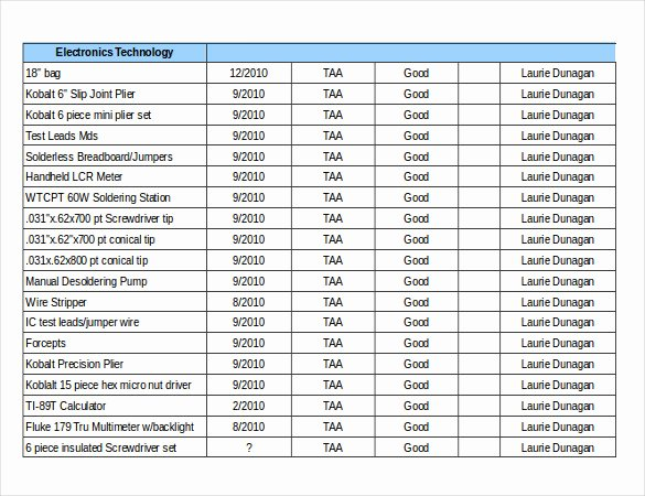 Retail Inventory Excel Template Unique 16 Free Inventory Templates Pdf Word Excel Pages
