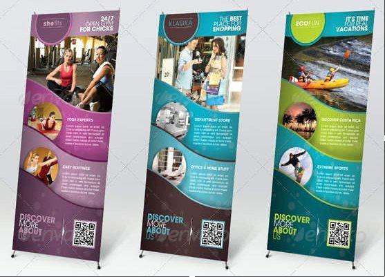 Retractable Banner Design Template Best Of Designer S Backpack 19 Outdoor Banner Design Inspiration